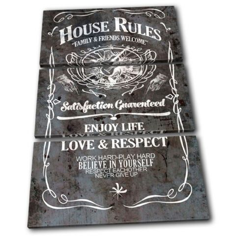House Rules Swirls Typography - 13-6066(00B)-TR32-PO